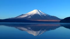 View of Mount Fuji, Japan Stock Footage