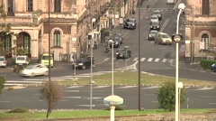 Catania, via Etnea, European Union, Sicily Stock Footage