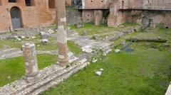 Casa dei Cavalieri di Rodi, Roma, Italy Stock Footage