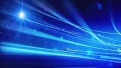 Blue space energy background loop Stock Footage