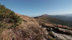 Carpathians nature mountain Stock Footage