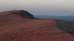 ridge Carpathians - stock footage