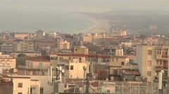 Bay of Catania, Sicily. - stock footage