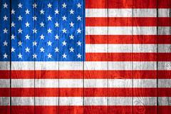 United States of America flag Stock Illustration