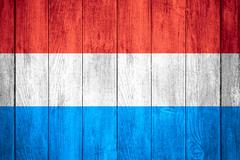Flag of Luxembourg Stock Illustration