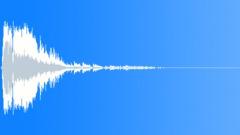 Big metal fall bang punch - sound effect