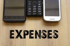 Expenses Concept - stock photo