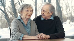Aging Together Stock Footage