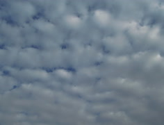 Heavy clouds slow fly over the sky 4K UHD footage Stock Footage