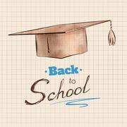 Graduation cap Piirros
