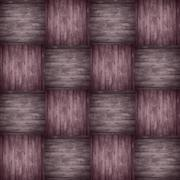chequered pattern wooden violet background - stock photo