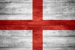 flag of England - stock illustration