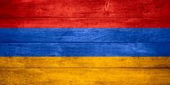 Flag of  Armenia Stock Illustration
