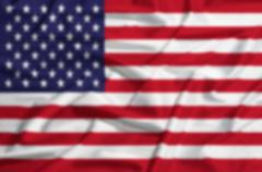 Intentionally blurred United States  flag on a silk drape Stock Illustration