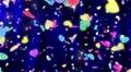 Heart neon r tornado Bw 4K Footage