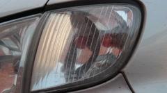 Flashing Turn Signal Car Stock Footage
