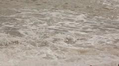 Crimea. Storm on the sea. Waves.2012 - stock footage