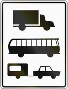 Lorries, Buses And Cars With Trailer Only Piirros