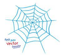 Spider web - stock illustration