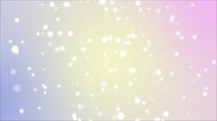 4K Elegant background with light particles Stock Footage