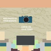 Album for photos - stock illustration
