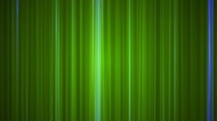 Broadcast Vertical Hi-Tech Lines, Green, Abstract, Loopable, HD Stock Footage