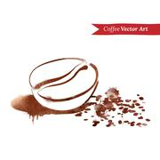 Coffee bean Stock Illustration