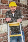 Composite image of manual worker - stock photo