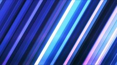 Broadcast Twinkling Slant Hi-Tech Bars, Multi Color, Abstract, Loopable, HD Stock Footage