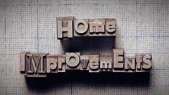 Home Improvements Time Lapse Stock Footage