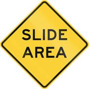 Slide Area - stock illustration