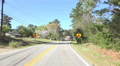 Car POV Driving Down Road In Macon Georgia 04 Footage
