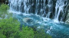 Water stream in Hokkaido, Japan Stock Footage
