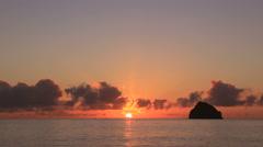 Ogasawara Island Coast, Japan Stock Footage