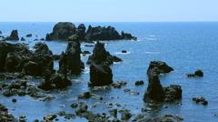 Oga Peninsula, Akita Prefecture, Japan Stock Footage