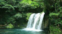 Kawazu Nanadaru Waterfall, Shizuoka Prefecture, Japan - stock footage
