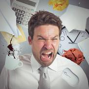 Work overload Stock Photos