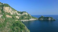 Costiera Amalfitana, Italy Stock Footage
