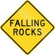 Stock Illustration of Falling Rocks