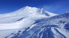Mount Daisetsu, Hokkaido, Japan Stock Footage