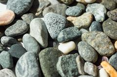 Stock Photo of Background from the scattered pebble