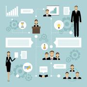 Business meeting concept Stock Illustration
