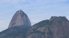 Time lapse - Sugar Loaf Mountain in Rio de Janeiro, Brazil Stock Footage