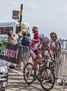 The Cyclist Daniel Moreno Fernandez Stock Photos