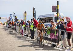 Stock Photo of The Cyclist Igor Anton Hernandez