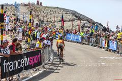 The Cyclist Igor Anton Hernandez Stock Photos