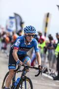 The Cyclist Andrew Talansky - stock photo