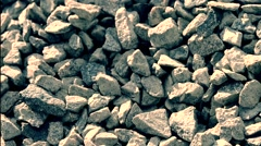 rubble stones background - stock footage