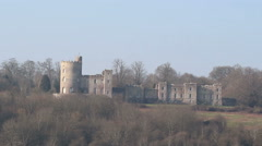 Norris castle historic building Stock Footage