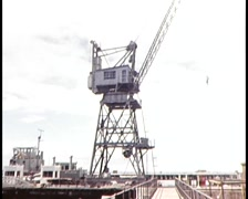 MELB DOCKLANDS AND WORKERS Stock Footage